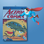 Superman & Action Comics Hallmark Ornament 1998
