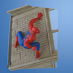 Amazing Spider-man: Hallmark Spiderman Ornament 2007