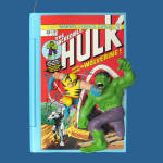 Hulk And Wolverine: Comic Book Heroes Hallmark Ornament 2010