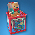 Pop Goes The Teddy: Jack In The Box Memories Hallmark