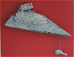 Star Destoyer And Blockade Runner