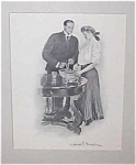 Antique & Vintage Prints: Romance: Cooking : Cf Underwood