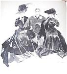 Vintage Print Afternoon Victorian Tea Henry Hutt