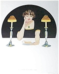 Vintage Coles Phillips Print Fade Away Girl