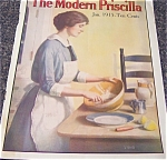 Vintage Print Cooking Baking Kitchen Magazine Cover Art Tyng