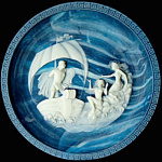 The Sirens: Voyages Of Ulysses An Incolay Plate