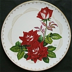 Love Rose: Boehm Roses Of Excellence Plate