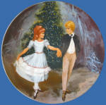 Clara And Prince: Nutcracker Ballet Shell Fisher Plate