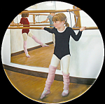 At The Barre: A Swan Is Born By Luanne Roberts, Ballet