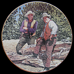 Bonanza: Classic Tv Western, Hamilton Plate