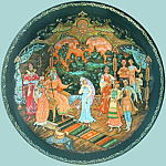 Judgment Of Tsar Berendey: Snow Maiden Legend Plate