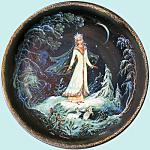 Snegurochka: Russian Snow Maiden Legend, Kholui Plate