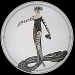La Merveilleluse: Erte, Seven Arts, Franklin Mint Plate