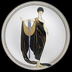 Glamour: House Of Erte, Seven Arts Franklin Mint Plate