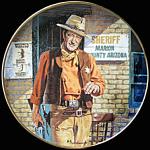 John Wayne, American Legend By Robert Tanenbaum Plate