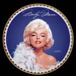 Frankly Feminine: Marilyn Monroe Gold Bradford Plate