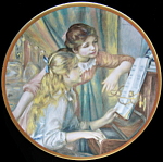 At The Piano: Children Of Renoir, Pickard Plate