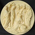 Raising Of Lazarus: Ghiberti Doors Plate