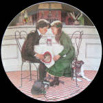 Valentine's Day: Don Spaulding American Holidays Plate