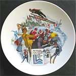 Winter Olympics: 1980 Lake Placid Commemorative Plate