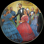 Inauguration: Lincoln Man Of America, Kunstler Plate