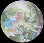 Stop And Smell The Roses: Rusty Money - Signed Plate