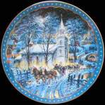 A Midnight Clear: Heartfelt Traditions Dominion Plate