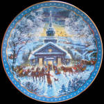 We Gather Together: Heartfelt Traditions Dominion Plate