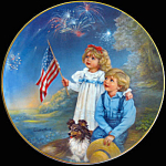 Star Spangled Sky - July: Childhood Almanac Sandra Kuck