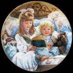 Night-time Story: Barefoot Children Sandra Kuck Plate