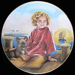 Stowaway: Shirley Temple Danbury Mint Plate
