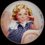 Ambassador Of Smiles: Shirley Temple Danbury Mint Plate