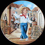 Captain January: Shirley Temple, Danbury Mint Plate