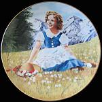 Heidi: Shirley Temple, Danbury Mint Plate