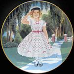 Littlest Rebel: Shirley Temple Danbury Mint Plate