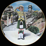 Wee Willie Winkie: Shirley Temple Danbury Mint Plate