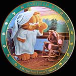 Rise But Won't Shine: Jim Davis Day With Garfield Plate
