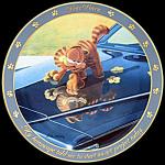 Art Project: Garfield Dear Diary By Jim Davis, Danbury