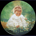 Spring Innocence: Wonder Of Childhood Zolan Plate