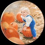 My Pumpkin Zolan Miniature Plate Pemberton & Oakes