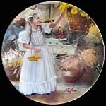 Spring Blossoms Flower Fantasies Donald Zolan Plate
