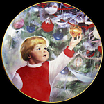 Erik's Delight: Children At Christmas Zolan Plate