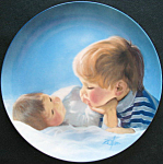 Brotherly Love Proof Plate: Special Moments Zolan Plate