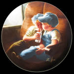 Little Engineers: Zolan Childhood Friendship Plate