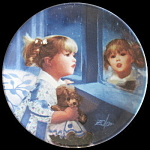 Window Of Dreams: Donald Zolan Miniature Plate