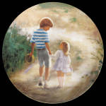 Country Walk: Childhood Friendship Zolan Plate