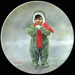 Winter Angel: Wonder Of Childhood Zolan Plate Pemberton