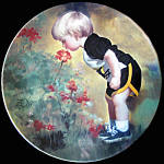 Grandma's Garden: Wonder Of Childhood Zolan Plate