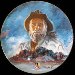 Degrazia And His Mountain Toschik Memorial Plate