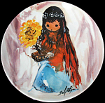 Sunflower Maiden: Children Of The Sun By Degrazia